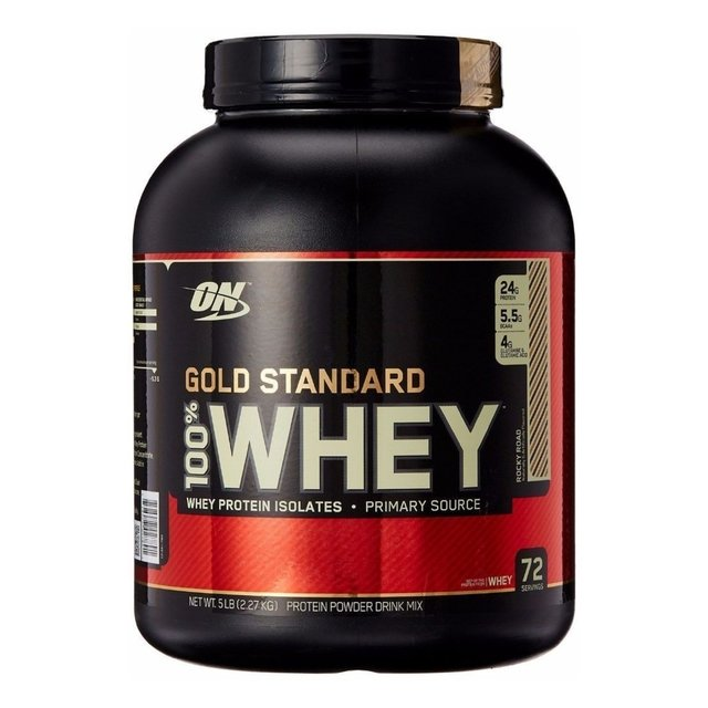 100% WHEY GOLD STANDARD 2,27kg - OPTIMUM