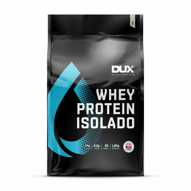 WHEY PROTEIN ISOLADO 1,8KG - DUX NUTRITION
