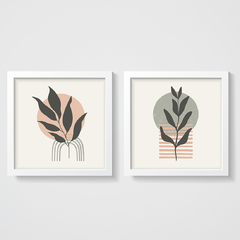 KIT QUADROS PLANTA BOHO - Creative Home