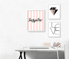 KIT QUADROS INSPIRE - Creative Home