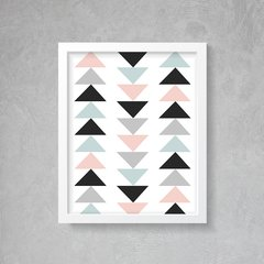 Quadro Poster Geometric Triangle