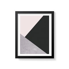 Quadro Poster Concreto - Creative Home
