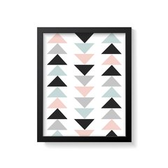 Quadro Poster Geometric Triangle na internet
