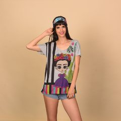REMERA CLEVELAND GRIS FRIDA 10 - buy online