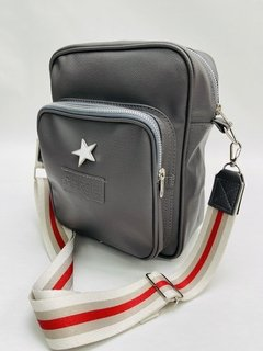 BANDOLERA MORRAL LONDON GRIS RYB