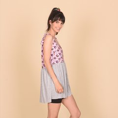 VESTIDO HOLLYWOOD GRIS FRIDA 100 en internet