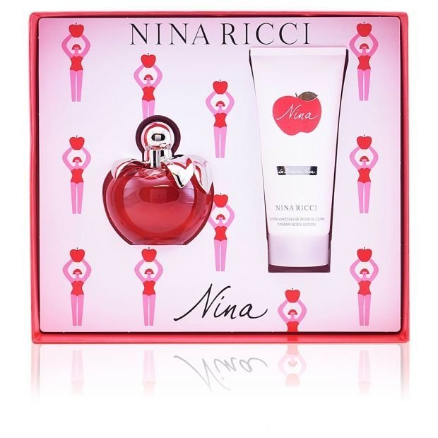 SET NINA EDT 80 ML + BODY LOTION
