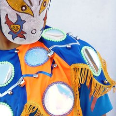 Babero de Diablo - Simple