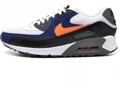 Tênis Nike Air Max 90 Essential White Blue Royal (Masculino)