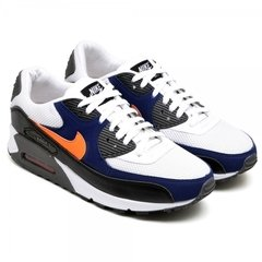 Tênis Nike Air Max 90 Essential White Blue Royal (Masculino) na internet