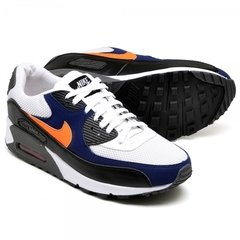 Tênis Nike Air Max 90 Essential White Blue Royal (Masculino) - loja online