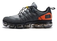 Tênis Nike Air VaporMax Run Utility Grey Orange (Masculino)