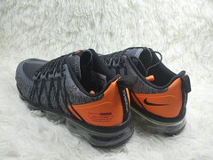 Tênis Nike Air VaporMax Run Utility Grey Orange (Masculino) na internet
