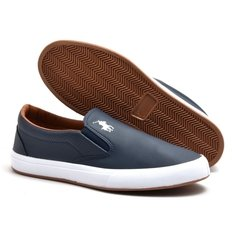 Slip On Polo Way Azul Marinho (Masculino) - comprar online