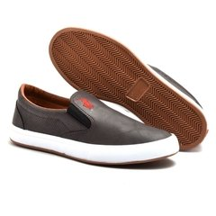 Slip On Polo Way Marrom (Masculino) na internet
