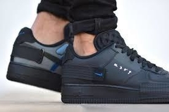 Tênis Nike Air Force AF-1 Type Preto (Masculino) na internet