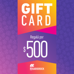 GIFT CARD: $500