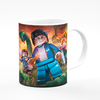 TAZA DE PLÁSTICO - HARRY POTTER LEGO