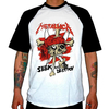 REMERA COMBINADA METALLICA - SEEK AND DESTROY