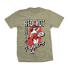 REMERA RED HOT CHILI PEPPERS - IN THE FLESH