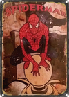 CHAPA VINTAGE: SPIDERMAN - MARVEL