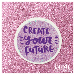 Stickers CREATE YOUR FUTURE - Wish by G.