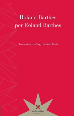 Roland Barthes Por Roland Barthes - Roland Barthes
