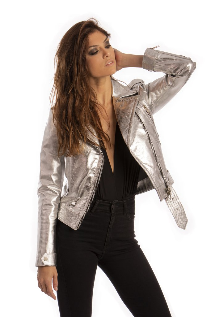 Chaqueta Electric Silver