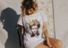 Camiseta Oversized - Frida Kahlo