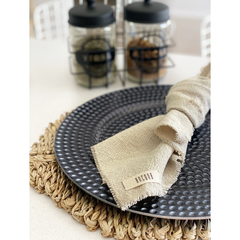 Set x 4 - Servilletas lino natural