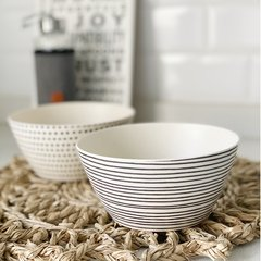 Bowl Naturale rayas