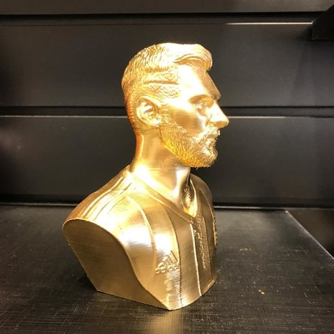 Busto Messi Gold