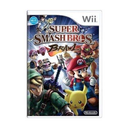 Smash Bros Brawl - Wii