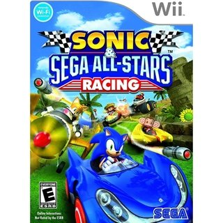 Sonic All-star Racing - Wii