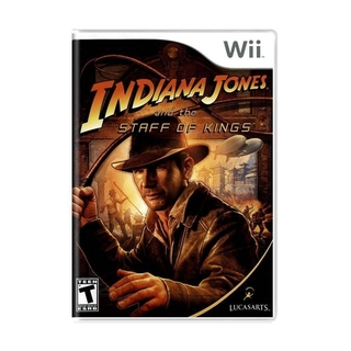 Indiana Jones And The Staff Of Kings (sem capinha) - Wii