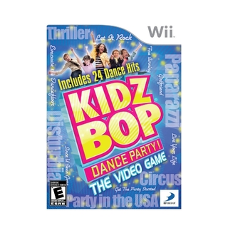 Kidz Bop Dance Party! (sem capinha) - Wii