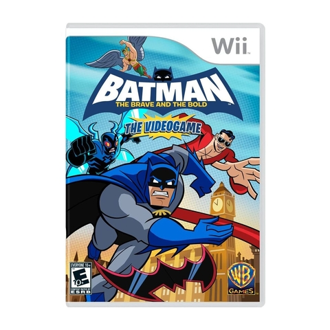 Batman The Brave and the Bold The Videogame - Wii