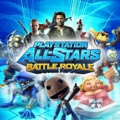 Playstation All Stars Battle Royale (sem caixa) - Ps Vita