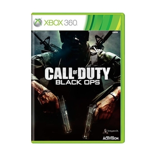 Call of Duty Black Ops 1 (sem capinha) - Xbox 360