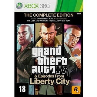 GTA IV Complete Edition - Xbox 360
