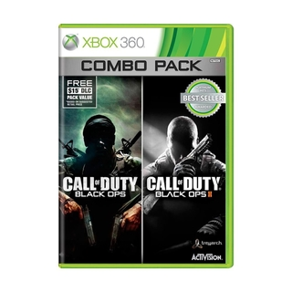 Call of Duty Black Ops 1 e 2 Combo Pack - Xbox 360