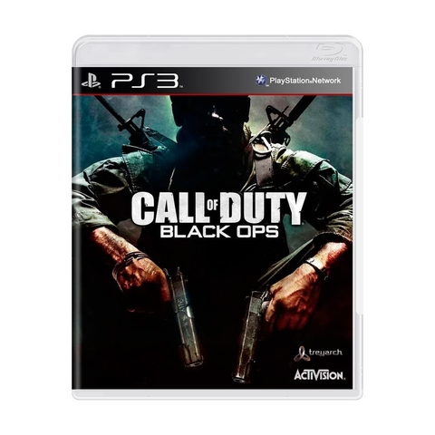Call of Duty Black Ops 1 (sem capinha) - Ps3