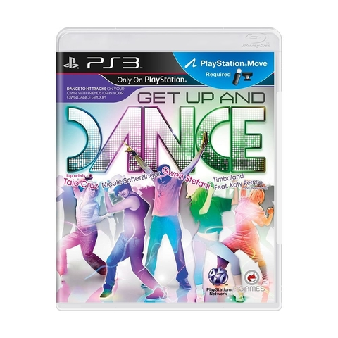 Get up and Dance (sem capinha) - Ps3
