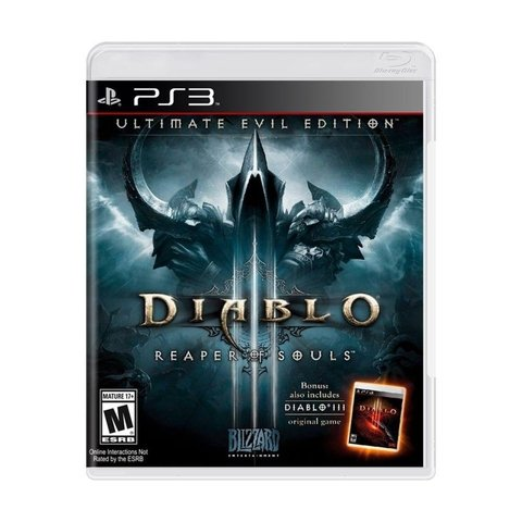 Diablo III Ultimate Evil Edition - Ps3