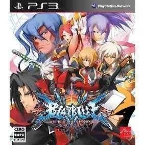 Blazblue Chrono Phantasma - Ps3