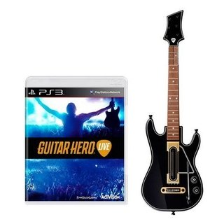 Guitar Hero Live + Guitarra - Ps3