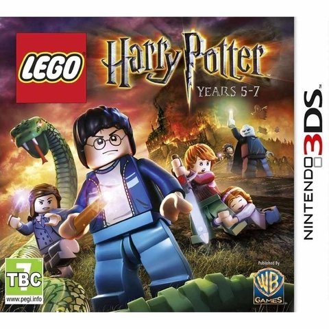 Lego Harry Potter 2 - 3ds