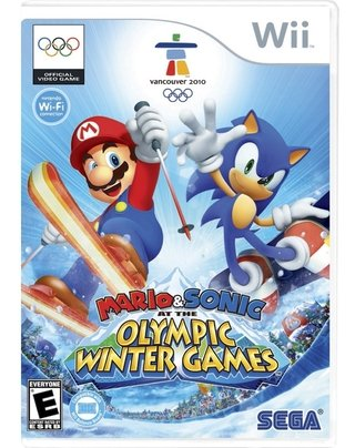 Mario & Sonic At The Olympic Winter Games - Wii