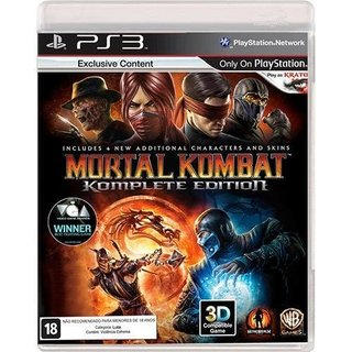 Mortal Kombat Komplete Edition - Ps3