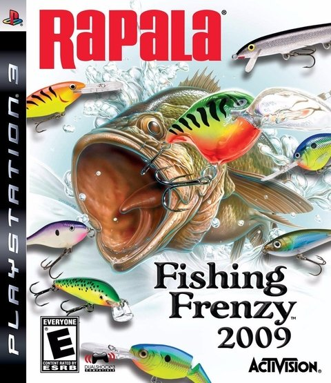Rapala Fishing Frenzy 2009 - Ps3